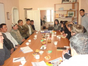 Cross-Learning Trip to Kyrgyzstan, 2011